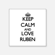 Keep Calm and Love Ruben Sticker