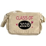 Class of 2028 (butterfly) Messenger Bag