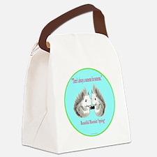 Someone blueSquirrells PNG16b 10x Canvas Lunch Bag