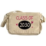 Class of 2030 (butterfly) Messenger Bag