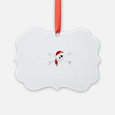 PirateMorale White Ornament