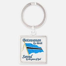 botswananew Square Keychain