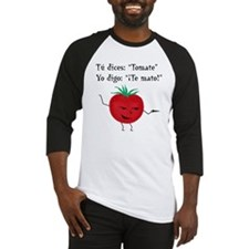 Tomate tomato 6 inch final png Baseball Jersey