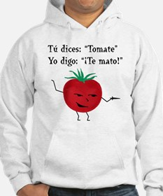 Tomate tomato 6 inch final png Hoodie
