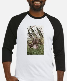 Giant Squid vs. Pirates color Baseball Jersey