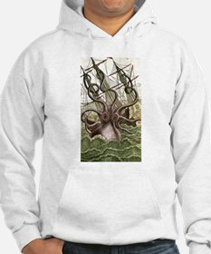 Giant Squid vs. Pirates color Hoodie