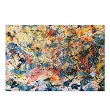 action-painting Postcards (Package of 8)