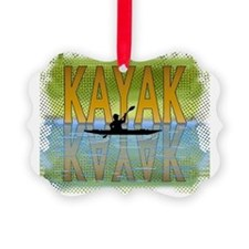 kayakreflectf Ornament