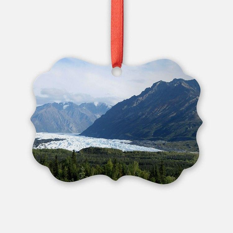 Matanuska Glacier Ornament