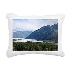 Matanuska Glacier Rectangular Canvas Pillow