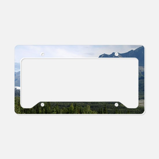 Matanuska Glacier License Plate Holder