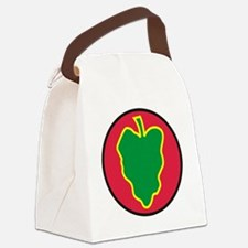 24th Infantry Division Canvas Lunch Bag