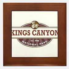 Kings Canyon National Park Framed Tile