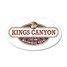 Kings Canyon National Park Wall Decal