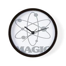 science magic Wall Clock