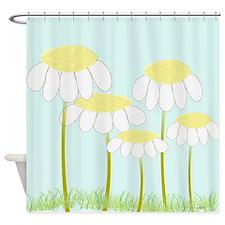 Daisies 3 Shower Curtain