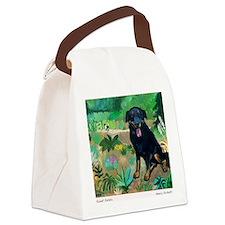 sweet potato card Canvas Lunch Bag