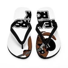 BeaversRock Flip Flops