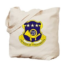 19th Infantry Regiment Tote Bag