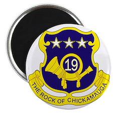 19th Infantry Regiment Magnet