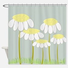 Daisies 2 Shower Curtain