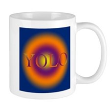 you only live once YOLO Mugs