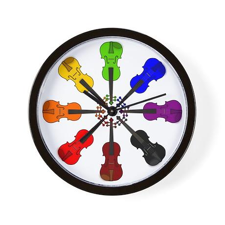 circle_of_violins Wall Clock