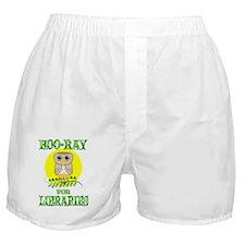 owllibraries Boxer Shorts