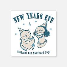 """new-years-natl-LTT Square Sticker 3"""" x 3"""""""