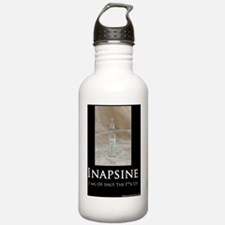 Inapsine for shirt Water Bottle