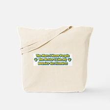 Like My Bouvier Tote Bag