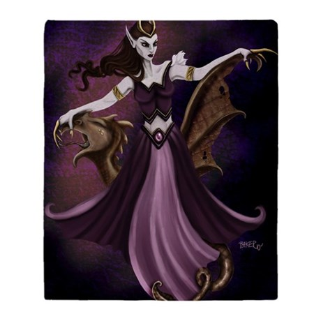 Loxianna Large poster Throw Blanket