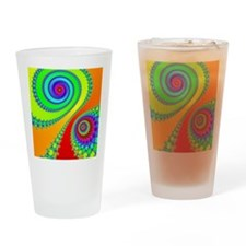 Hook and Spiral Drinking Glass