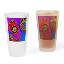 Spiral With Hook Rugs Drinking Glass