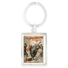 Initiating a High Roller Vintage Portrait Keychain