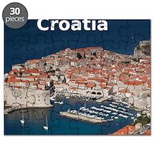 Croatia Calendar Cover Puzzle