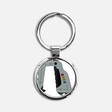 Space 1999 Stun Gun Round Keychain