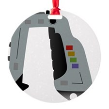 Space 1999 Stun Gun Round Ornament