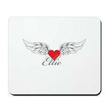 Angel Wings Ellie Mousepad