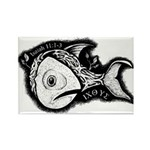 Jesse's Tree Fish Rectangle Magnet (10 pack)