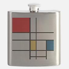 Mondrian_style Flask
