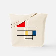 Mondrian_style Tote Bag