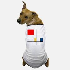 Mondrian_style Dog T-Shirt