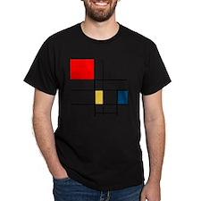 Mondrian_style T-Shirt