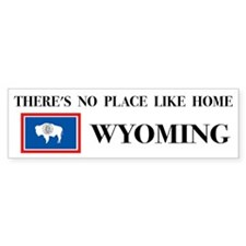 Wyoming Bumper Bumper Sticker
