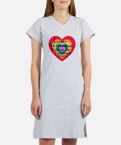 ISupportGayRights Women's Nightshirt