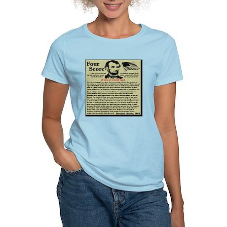 fourscorenew2 Women's Light T-Shirt