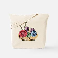 Yarn Slut Tote Bag