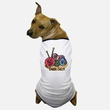 Yarn Slut Dog T-Shirt