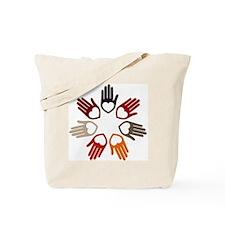 HP circle Tote Bag